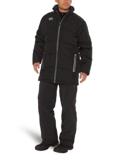 Canterbury Pro Herren Daunenjacke Jacke Puffa Large schwarz - schwarz