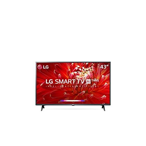 2021 Smart TV LG 43' Full HD 43LM6370 WiFi Bluetooth HDR ThinQAI compatível com Inteligência Artificial