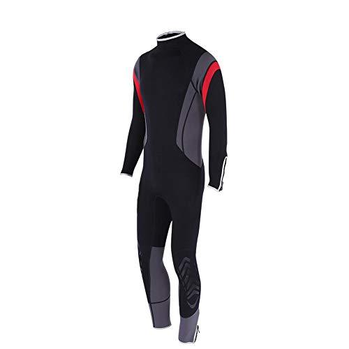 Alomejor Muta da Sub 2,5 mm Muta Termica in Neoprene per Protezione UV da Uomo per Immersioni Subacquee Snorkeling(XL)