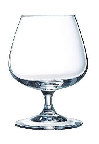 Arcoroc ARC 62664 Degustation Cognacschwenker, Cognacglas, 410ml, Glas, transparent, 6 Stück