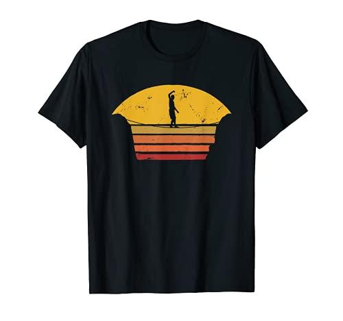 Slackline | Slacken, Slacklining und Slacklinen Outdoor T-Shirt