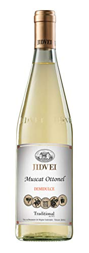 Jidvei | TRADITIONAL Muscat Ottonel - Vin Alb Demidulce | Weißwein lieblich aus Rumänien | 0,75 L D.O.C.