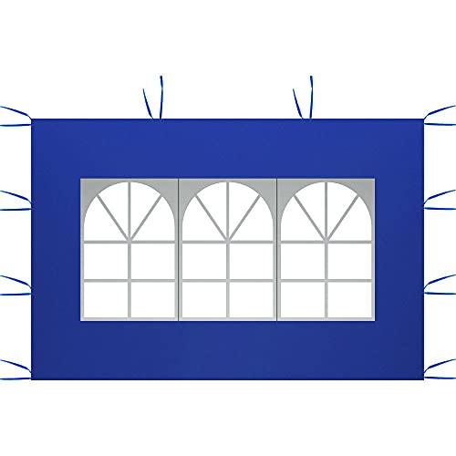 Paneles laterales para cenador de jardín, panel lateral de Gazebo para tienda de campaña, cenador plegable impermeable de tela Oxford 210D para...