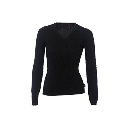 Robe di Kappa - Camiseta de manga larga - para mujer Negro negro S