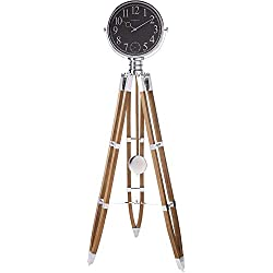Howard Miller Chaplin II Floor Clock 615-071 – Driftwood with Quartz Triple-Chime Movement