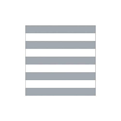 Krasilnikoff servetten Happy Stripes Grijs Wit 33x33 cm 20 stuks papieren servet