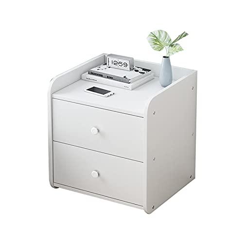 2-Stander-beistelltisch, Schlafzimmer Storage Storage-Schrank Holz Durable Couchtische Studienraum Sofatabellen Größe: 43 * 40 * 45 cm(Size:43 * 40 * 45CM,Color:#2)