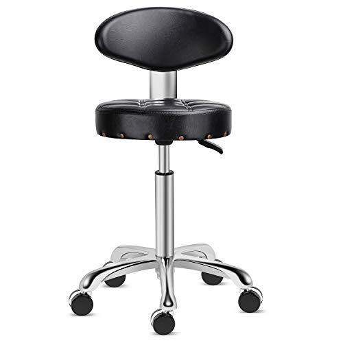 Kaleurrier Rolling Stool Salon Chair