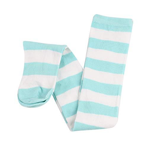 Fineday 1 Pairs Keep Warm Wide Stripes Long Tube-Shaped Socks Comfortable Socks, Socks, Clothing Shoes & Accessories (Mint Green)
