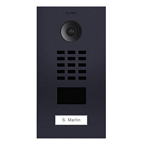 Doorbird D2101V Video-Türsprechanlage, IP mit RFID, Anthrazit