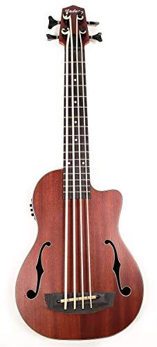 Hadean Acoustic Electric Bass Ukulele UKB-20 FH NAT K (Natura)