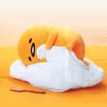 ぐでたま お寿司&寝そべり BIGぬいぐるみ 寝そべり単品