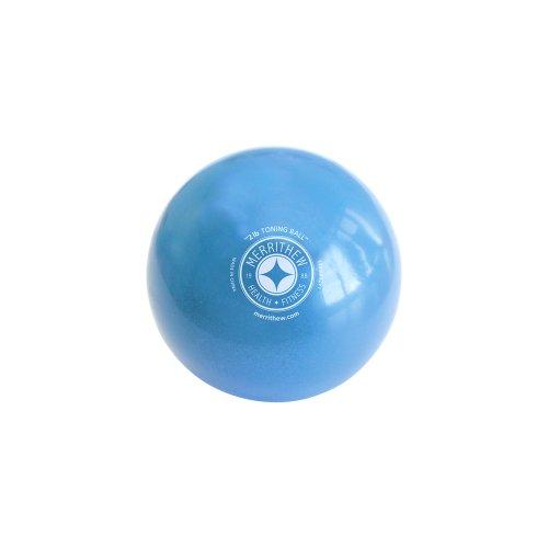 STOTT PILATES Toning Ball (Blue), 2 lbs / 0.9 kg