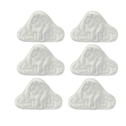 Microfibre Coussinets Tissu Pour Fit Vax Bionaire Efbe-schotte Montiss & Delta Vapeur Mops (pack De 6) Produits Ménagers