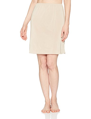 Jones NY Women's Silky Touch 19 Anti-Cling Above Knee Half Slip, Nude, M