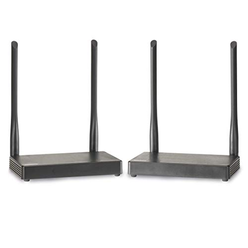 Drahtlose HDMI Extender - Marmitek TV Anywhere Wireless HD - Full HD - 1080P - flächendeckendes Bereich - durchschleifen - APP - Schauen Sie anderswo im Haus TV ohne Kabel zu verlegen - KVM