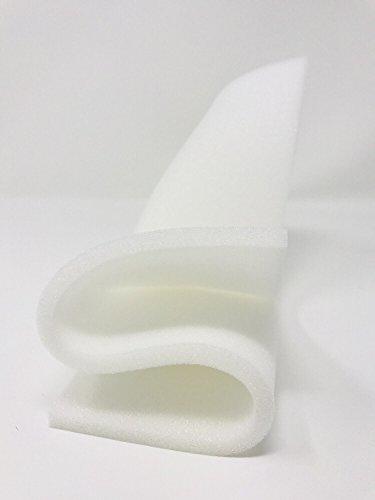 Fina Lámina de Espuma 0,5 cm - Extra Grande de 100 x 200cm/Espesor de 0,5cm - Marca Resingomm - Made in Italy Material para acolchados, protecciones y embalajes.