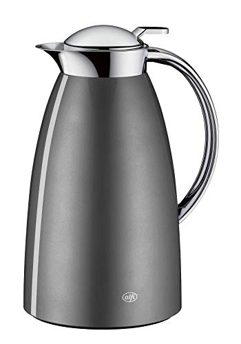 alfi 3561.218.100 Isolierkanne Gusto, Edelstahl Space Grey 1,0 l, Absolut...