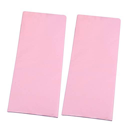 STOBOK 50pcs Carta velina Colorata Sottile Carta velina Carta da imballaggio per Le Forniture di Partito favori Regalo Avvolgere (Rosa) 51 * 66 cm