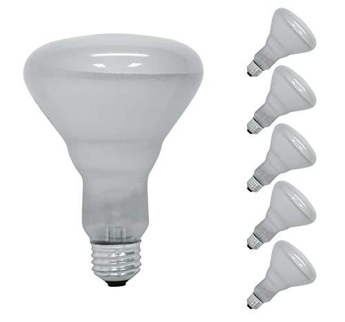 Sterl Lighting – 65 Watt BR30 Indoor Floodlight for Spotlighting E26 Base – 65W 120V Indoor Flood Light an Incandescent Frosted Reflector Bulb w/ 5.11 Inch 500Lm 2700K Soft White – 6 Pack