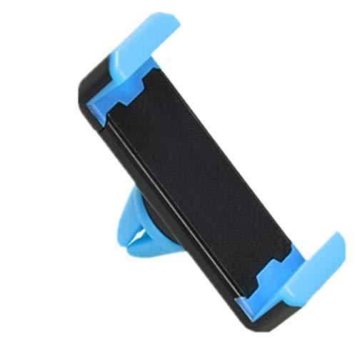 Universal Air Outlet Mini Car Holder Mount para GPS Teléfono móvil (azul)