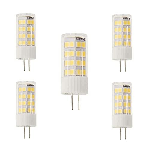 Jandei - x5 G4 LED-Glühlampe. 5W. Neutrales Licht 4200K.