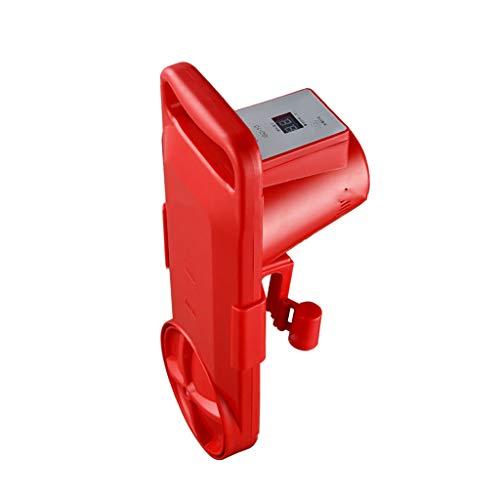 Machine à Laver Micro Petit Mini artefact de Lavage Portable Chaussettes de Lavage Simple Paresseux vêtements sous-vêtements (Color : Red, Size : Upgraded Version)