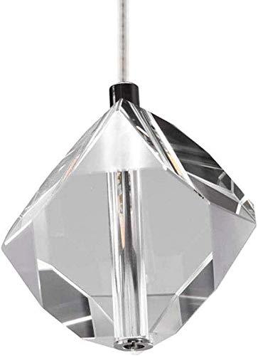 Candelabros ajustables, candelabros, candelabros de pantalla de vidrio, lámparas de techo de restaurante, pantallas de cubo de cristal transparente, lámparas de cristal LED, creatividad individual