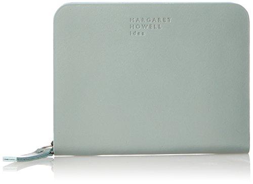 [マーガレット・ハウエル アイデア] 折財布 【ベンジャミン】牛革 ノンステッチ製法 MHLW8JS1 レディース ブルー