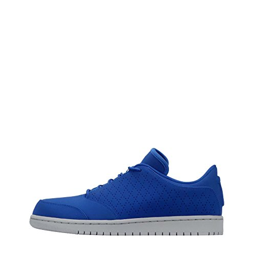 NIKE Air Jordan 1 Flight 5 Low Hommes Basketball 888264 Sneakers Chaussures (UK 7.5 US 8.5 EU 42, Team Royal 403)