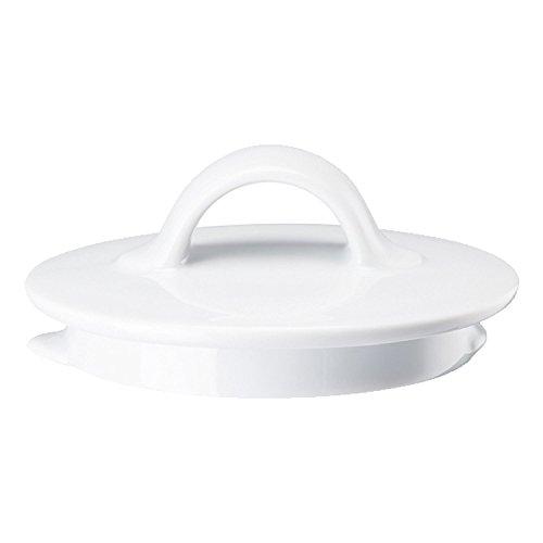 Arzberg Cucina Deckel für Teekanne Bianca 1.5 L (6 Personen), Ersatzdeckel, Ersatz Teil, Ersatzteil, Porzellan, 42116-800001-14149