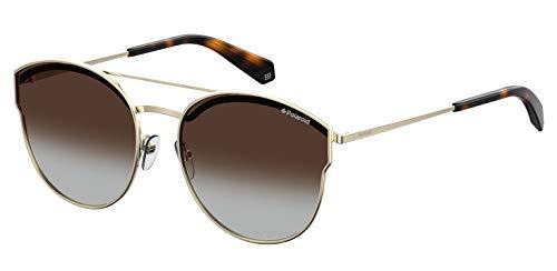 Polaroid Eyewear PLD 4057/S Occhiali da Sole, Gold Brwn, 60 Donna