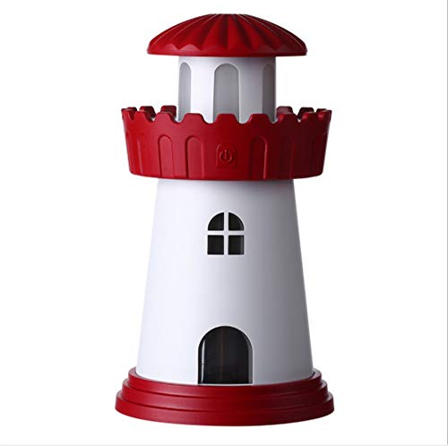 °nachtlicht Leuchtturm Ultraschall USB Tragbare Luftbefeuchter Mini LED 150ML Luftbefeuchter