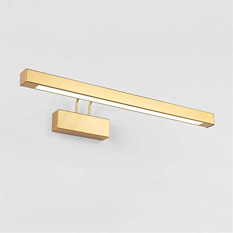 Bad LED Spiegel Lampe Moderne Einfache Spiegel Frontleuchte Einstellbarer Winkel Bad Kabinett Beleuchtung 9 Watt 42CM