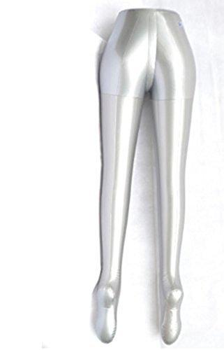 Women's Pants Jeans Inflatable Mannequin Torso Dummy Model Female Dress Form Display