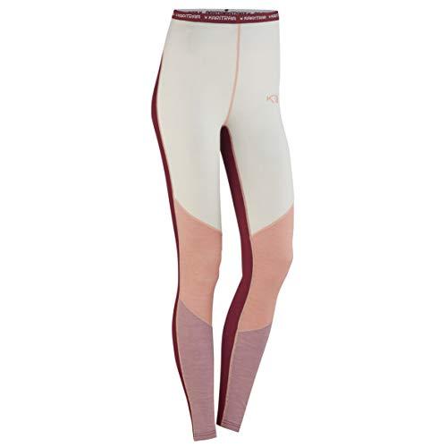 Kari Traa Women's Kink Base Layer Bottoms - Merino Wool Blend Thermal Pants Port X -Large