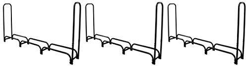 Buy Landmann 82443 Firewood Rack with Cover, 8-Feet (Pack of 3)