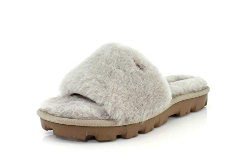 UGG Female Cozette Slipper, Oyster, 7 (UK),40(EU)