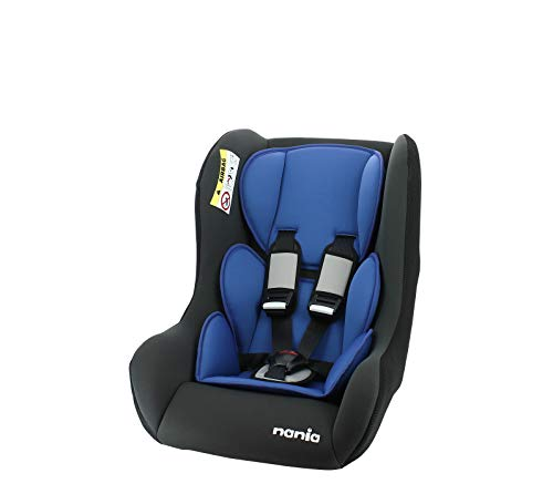 Siège auto TRIO groupe 0/1/2 (0-25kg) - Dos à la route jusque 13kg - fabrication française - Nania Access bleu