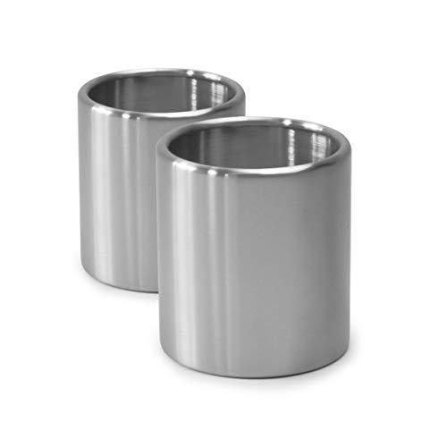 höfats - Spin 2X Bioethanol Nachfülldose aus Edelstahl ohne Brenngel - Set mit 2 Nachfüll-Dosen - Zubehör für Spin…