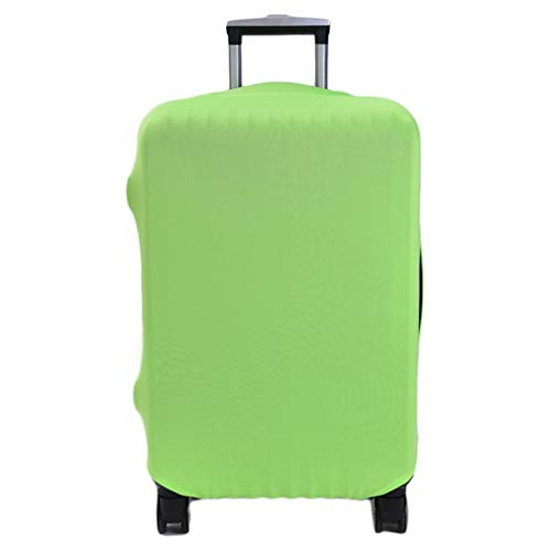 Nsdsb Travel Suitcase Cover Solid Multi-Color And Multi-Inch Trolley Case Dust Cover Green S
