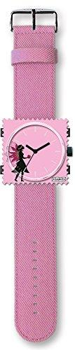 Stamps - Correa para reloj (incluye adaptador (sin reloj), color rosa