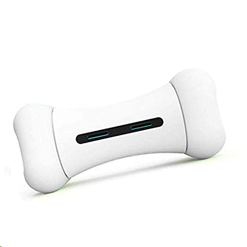 LIANGZHI Smart Interactive Dog Toy Electric Bone Chew Toys - Aplicación de Control - Carga USB - Material Seguro de la FDA
