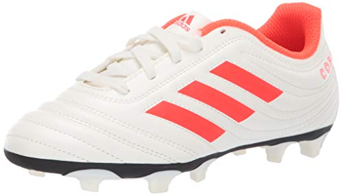 adidas Unisex Copa 19.4 Firm Ground, Off White/Solar Red/Off...