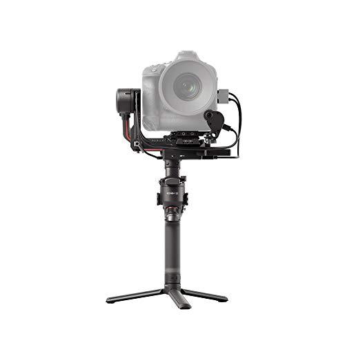 DJI RS 2 Pro Combo - Stabilizzatore Gimbal a 3 Assi per DSLR e Fotocamera Mirrorless, Nikon Sony Panasonic Canon Fujifilm, Ronin S, 4,5 kg di Carico, Focus Motor, Trasmettitore di Immagini - Nero