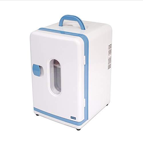 PULLEY Mini refrigerador, refrigerador portátil compacto refrigerador eléctrico para coche/barco/acampar/al aire libre