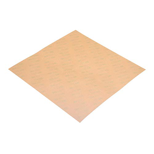 KASILU YHJ322 300 * 300 * 0.3mm Polyetherimide PEI Sheet for 3D Printer Het Bed Amber Coloring with 3M Glue High-performance