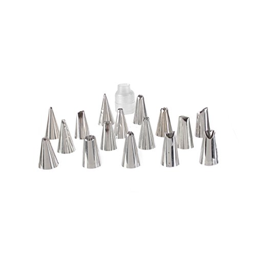 Lily cook KP5426 Set de 16 Boites Douilles, INOX, Argent, 3 x 3 x 4 cm