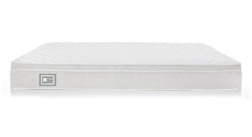 Urban Ladder Dreamlite 8-inch Queen Size Bonnel Spring Mattress with Eurotop (78x60x8)