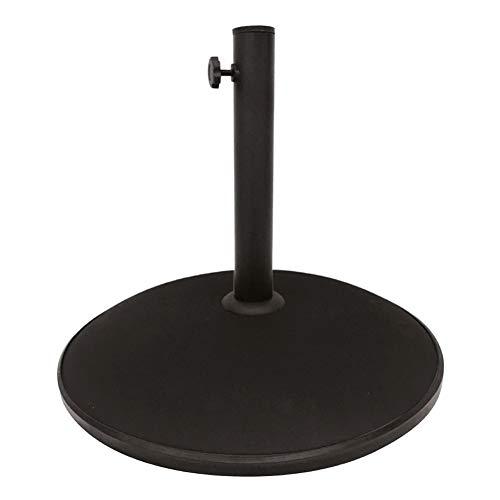Aktive Garden 53897 - Soporte Parasol Cemento, 45 x 8 cm, 15 Kg , Tubo 35/48 mm